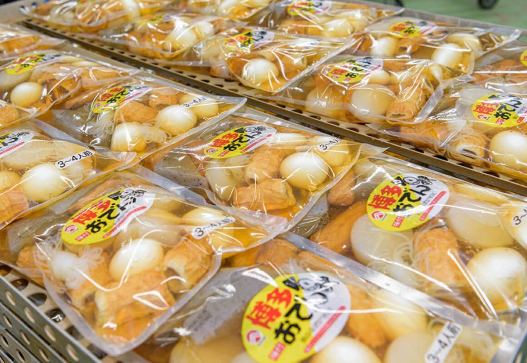 九州の食材が詰まった博多おでんのパッケージ